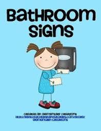 printable bathroom signs for kids.  Bathroom Bathroom Signs And Labels For Printable Signs Kids