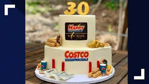 Bakers Amazing Costco Birthday Cake Includes Samples Churros And