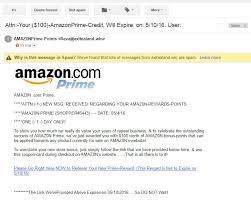 Will Labs Amazon 100 - Spam Credit Prime Malwarebytes