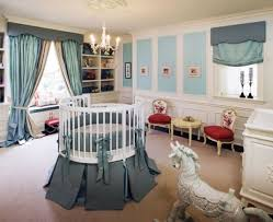 luxury baby nursery furniture. Baby Nursery Spacious Room With Luxury Furniture Sets Also Round Crib And Decorated.