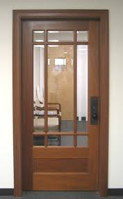 office front doors. Wood Office Door With Glass Front Doors