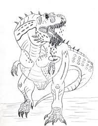 t rex coloring pages