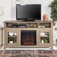 isabel highboy 58 tv stand with fireplace