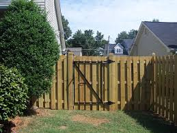 double fence gate. Double-Sided-Commercial-Shadow-Box-Gate Double Fence Gate