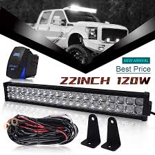 24 Inch Light Bar With Wiring Harness