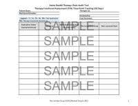 Hospice Chart Audit Tool E M Audit Worksheets