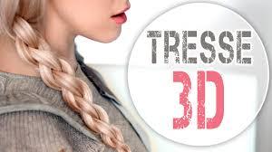 Tresse 3d 4 Brins Tuto Coiffure Pour Tous Les Jours Youtube