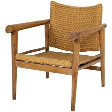 silver brushed metal chair woven. Straw Wicker Woven Rush Chair Mid Century Attr. Jean Michel Frank, 1930 France Silver Brushed Metal