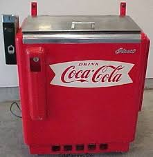 Old Coke Vending Machines Magnificent Stuart Vyse Fond Memory Water Bath Slider Coke Machines