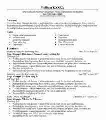 Stage Manager Job Description Stage Manager Annual County Spelling ...