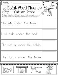 Worksheets Kids Kindergarten Language Arts Science For Image ...