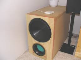 diy budget enclosure lofty 3 home theater subwoofer box plans theater subwoofer box plans