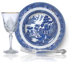 Blue And White China Pattern Enchanting Storied Patterns Exquisite Artistry At Replacements Ltd Blue