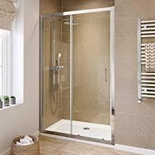 shower cubicles. 1200mm Modern Sliding 6mm Glass Shower Enclosure Reversible Cubicle Door: IBathUK: Amazon.co.uk: DIY \u0026 Tools Cubicles