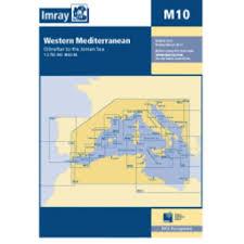 Imray Charts Mediterranean Imray M Series M10 Western Mediterranean Charts And Publications