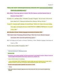 Mla 8th Edition Sample Paper Mla 8 Sample Paper By Liberty University