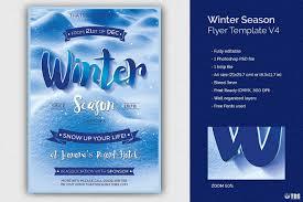 Winter Flyer Template Winter Season Flyer Template V24 Thats Design Store 18