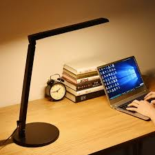 office lighting levels at work. modern office table lamp 8w led desk dimmable 5-level brightness touch sensor folding reading lights 5 color modes lighting levels at work l