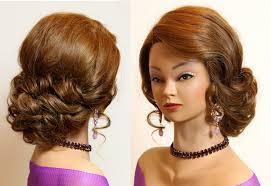 prom updos for um hair prom wedding updo for long um hair makeup videos