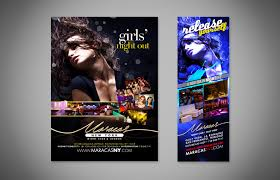 Maracas Night Club Flyers 4 | Am Creative Group