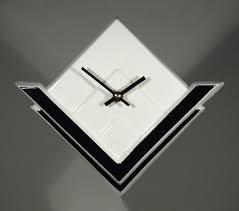 wall clocks echo of deco british art