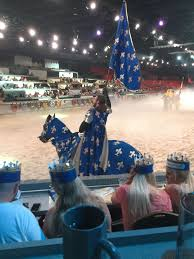 Myrtle Beach's Medieval Times Dinner Theater: The Blue Knight | Medieval  times dinner, Myrtle beach, Dinner theatre