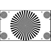 3nh Te148 A Reflectance Camera Lens Focus Test Chart 36
