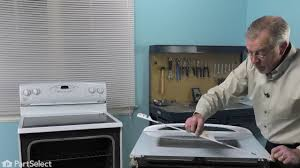 oven repair replacing the inner door glass pane whirlpool part 74003645
