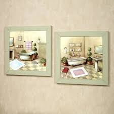 bathroom wall art ideas decor canvas terrific inspirations and for images  decorating small two green . bathroom wall art ...