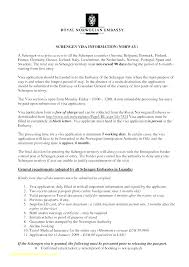 Cover Letter With Application Form Cover Letter Template Visa