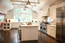 vaulted kitchen ceiling lighting. Cathedral Ceiling Kitchen . Vaulted Lighting T