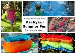 outdoor activities for preschoolers. Summer Backyard Fun For Preschoolers: Outdoor Motor Activities Preschoolers O
