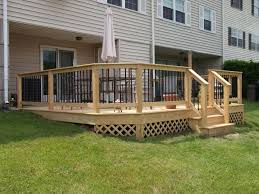 Decking Designs For Small Gardens Interesting Patio Decks Designs With Deck Plus Ideas And Pictures Together Small