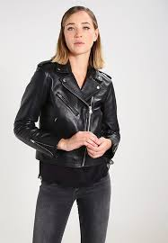 levi s relaxed moto leather jacket black for women x32k5291