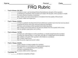 ap central ap literature exam essay rubric sample edu essay ap rubric of all rubrics 1167034