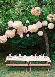 ideas garden party birthday decorations