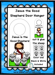Take a look at our enormous collection of festive holiday coloring sheets, all completely. Bible Fun For Kids Jesus The Good Shepherd Door Hanger