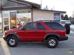 2000 Victory Red Chevrolet Blazer LS 4x4 #2747011 | GTCarLot.com ...