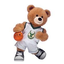 Stream milwaukee bucks vs brooklyn nets live. Basketball Bear Milwaukee Bucks Gift Set
