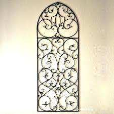 wrought iron window decor wrought iron wall art decor designs black metal window grille curved rectangle