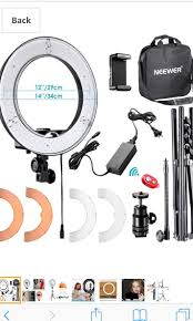 Neewer Rl 12 Led Ring Light Neewer Rl 12 Led Ring Light Photography Camera Accessories