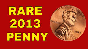 Us Penny Value Chart Super Rare 2013 Penny Worth Money 2013 Penny Value