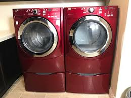 maytag 3000 series washer. Simple Series Maytag 3000 Series Red FrontLoading Washing Machine And Dryer  Commerical Technology Rarely Used Photo 1 For Washer