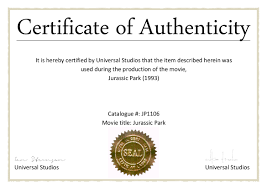 Certificate Of Authenticity Sample New Photography Certificate Of
