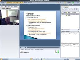 Microsoft Office Meeting Microsoft Office Live Meeting 2007 Quick Preview Thomas
