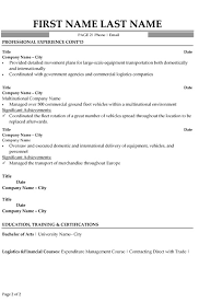 Logistics Specialist Resume Sample & Template Page 2