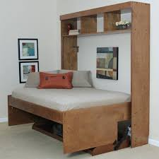 wall bed frame horizontal wall mount