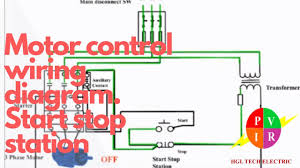 motor control start stop station motor control wiring diagram how motor control start stop station motor control wiring diagram how to wire start stop station