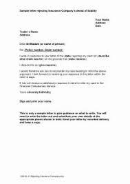Sample Reimbursement Letters Sample Appeal Letter To Insurancey For Denial Of Claim