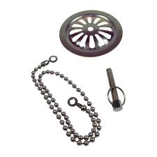 danco old style overflow plate with chain